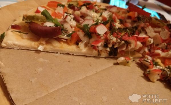 Как сделать пиццу в домашних условиях в духовке на готовой основе