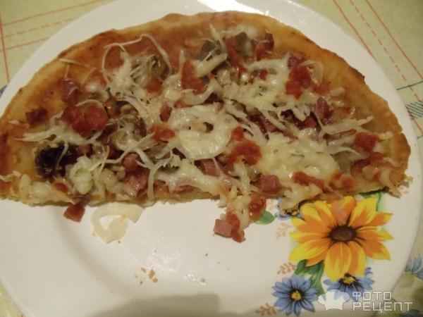 199Рецепт пиццы с готовым тестом в домашних условиях в духовке