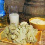 Рецепт: Цветная капуста в кляре — Из замороженной на зиму цветной капусты