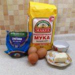 Рецепт: Торт «Наполеон» — отличный рецепт без выпечки в духовке