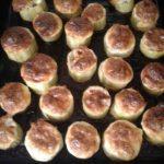 Рецепт: Фаршерованный кабачок — Под сырной корочкой