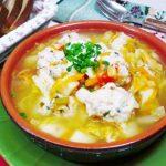 Щи из свежей капусты с картофелем и куриными клецками, рецепт с фото пошагово и видео