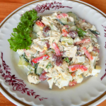 Салат из куриной грудки с красной фасолью и овощами, рецепт с фото и видео