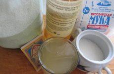 Рецепт: Печенье на рассоле — с манной крупой