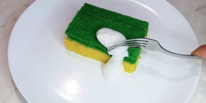 Пирожное «Губка для мытья посуды»