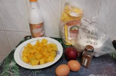 Рецепт: Тыквенные оладушки с яблоками — С корицей
