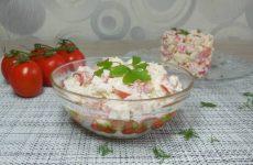 Всего 5 минут и вкуснейший салат готов!!!