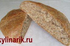 Хлеб с отрубями и медом в духовке, рецепт с фото и видео