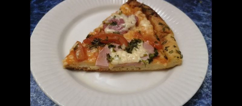 Пицца из жидкого теста на майонезе с колбасой и сыром, рецепт с фото и видео