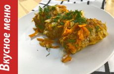 Ленивые голубцы с капустой, рисом и фаршем на сковороде, рецепт с фото пошагово и видео