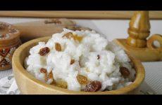 Поминальная кутья из риса с белым изюмом, рецепт с фото и видео