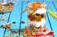 Ленивая овсянка с мандаринами на молоке, рецепт с фото