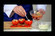 Запеченные помидоры с моцареллой в духовке, рецепт с фото и видео