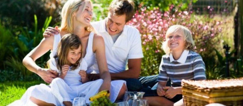 Пикник на природе для всей семьи