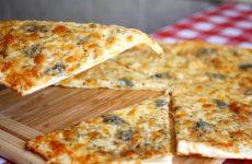 Классическая пицца «Четыре сыра» по-домашнему, рецепт с фото и видео