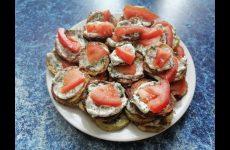 Жареные кабачки с чесночным соусом и помидорами, рецепт с фото и видео