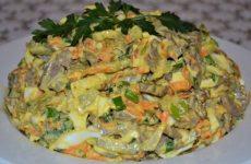 Салат из свиного сердца с морковью и репчатым луком, рецепт с фото