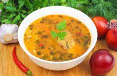 Бесподобный суп харчо из говядины с обжигающими пряностями (Невозможно оторваться!)