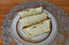 Творожная запеканка приготовленная в духовке с малиновым вкусом