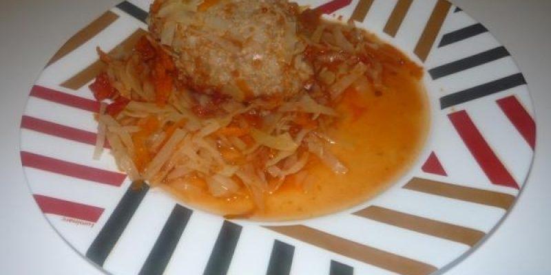 Рецепт: Голубцы в духовке — Соответствуют принципам Здорового питания: вкусно, полезно и не очень калорийно