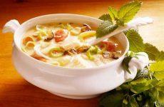 Суп из консервов с овощами