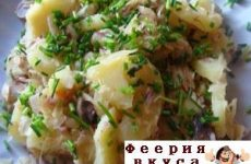 Белорусский салат из квашеной капусты