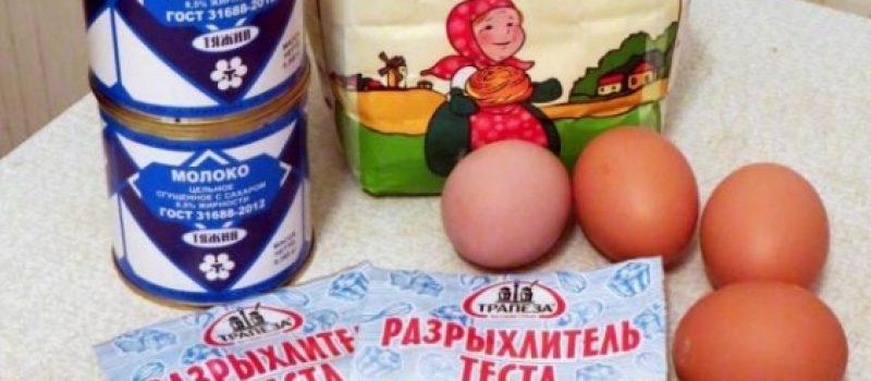 Рецепт: Торт «Молочная девочка» — Рецепт самого вкусного домашнего торта