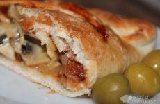 Рецепт: Стромболи — Пицца -рулет