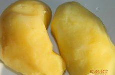 Рецепт: Салат с ветчиной и ананасами — Воздушный.