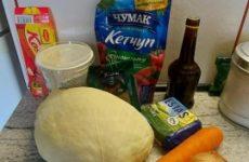 Рецепт: Капуста тушеная с вкусом печенных ребрышек — на сковороде .