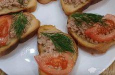 Рецепт: Бутерброды для «Нехочух» — По-домашнему