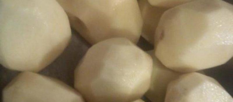 Рецепт: Хрустящие картофельные драники — на скорую руку