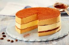 Рецепт: Торт «Тирамису» — без выпечки