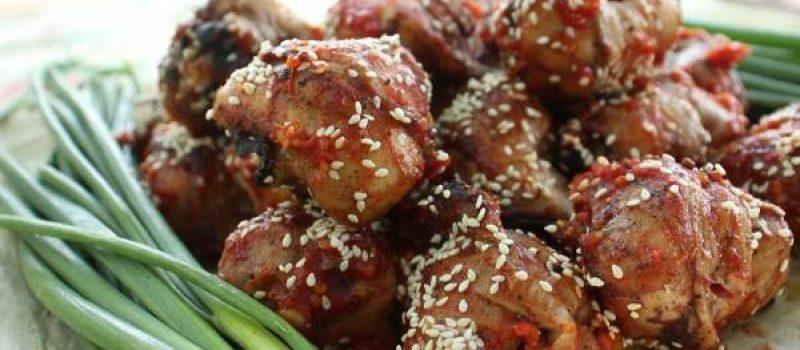 Шашлык из куриных ножек в луковом маринаде на углях, рецепт с фото и видео