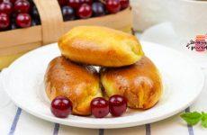 Вкуснейшие пирожки с вишней в духовке (Невероятное воздушное тесто!)