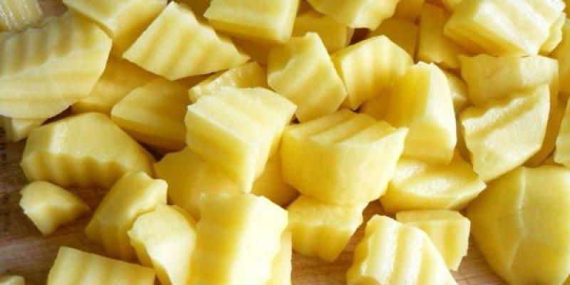Рецепт: Овощи запеченные в рукаве — с мидиями, из 10 овощей