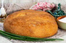 Дрожжевой домашний хлеб в духовке