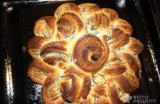 Рецепт: Пирог «Бабушкина салфетка» — с маковой начинкой