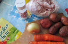 Рецепт: Суп по-молдавски — из курицы