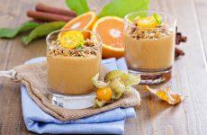 Ленивая овсянка с молоком и апельсином, рецепт с фото