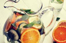Рецепт: Освежающий напиток — С мятой