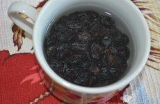 Рецепт: Творожная запеканка с изюмом — с мёдом в духовке