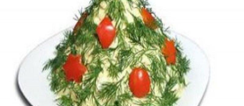 Салат «Зелёная ёлочка»