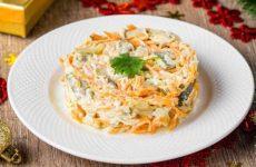 Салат из свиного сердца с морковью по-корейски и сыром, рецепт с фото
