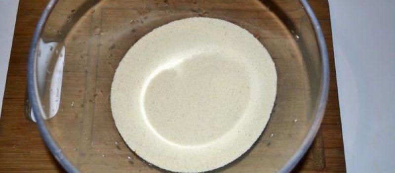 Рецепт: Пирог яблочный насыпной — с манкой