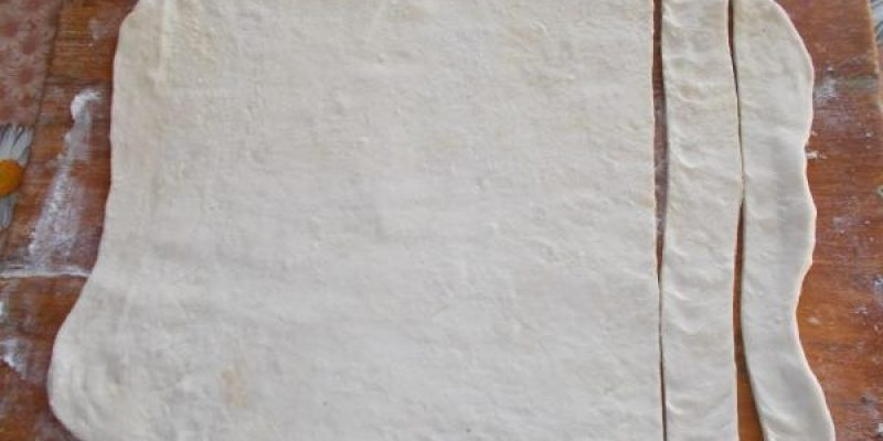 Рецепт: Торт «Полено» — березовое полено на Новый Год