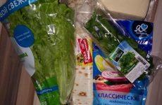 Рецепт: Закуска в лаваше — сырно-чесночные с салатным листом