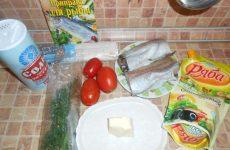 Рецепт: Рыба в лаваше — запеченая в духовке