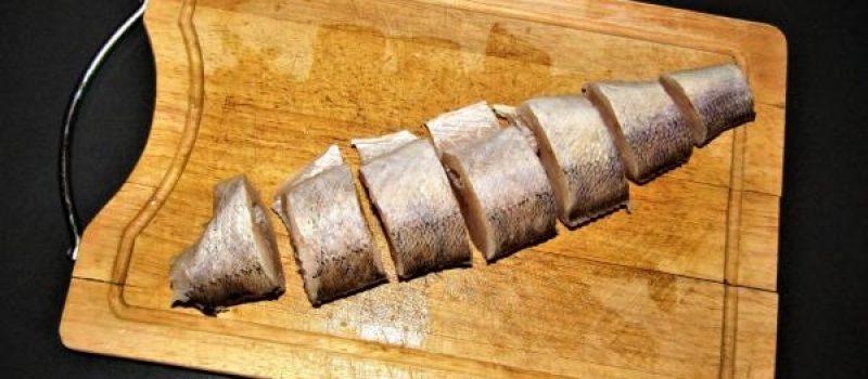 Рецепт: Жареный судак — по — домашнему
