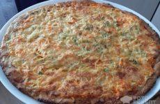 Рецепт: Вегетарианская пицца из мексиканской смеси — На гречневой и ячменной муке